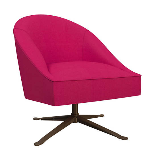 Estate Linen Fuchsia Embrace Chair