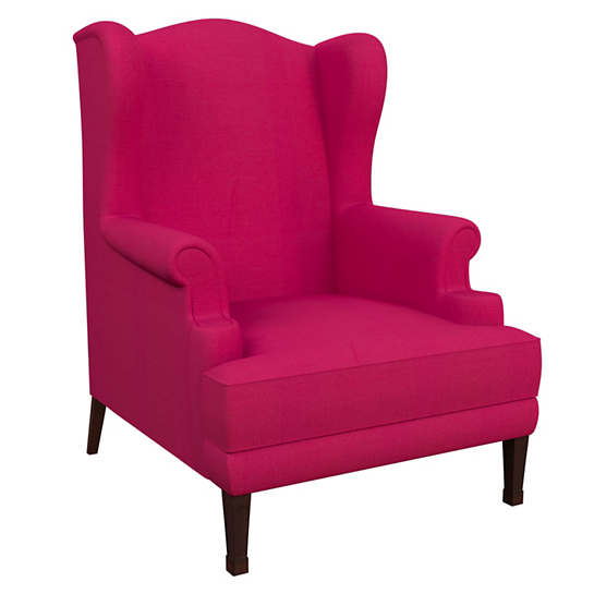 Estate Linen Fuchsia Lismore Chair