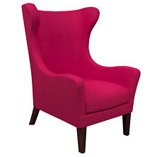 Estate Linen Fuchsia Mirage Tobacco Chair