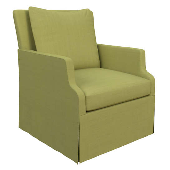 Estate Linen Green Aix Chair