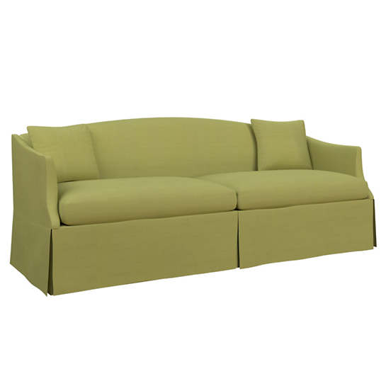 Estate Linen Green Avignon Sofa
