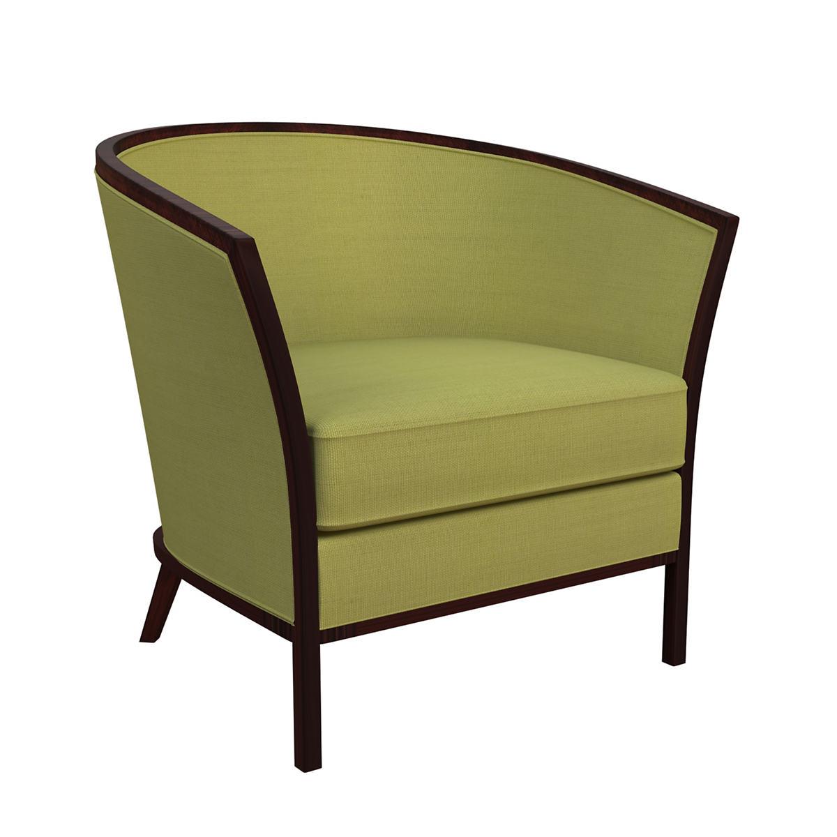 Estate Linen Green Bijou Chair