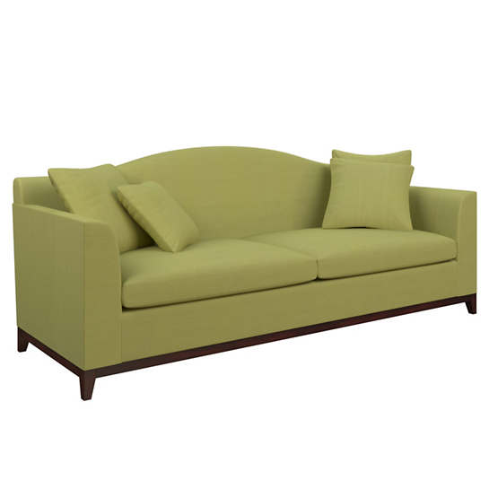 Estate Linen Green Marseille Sofa