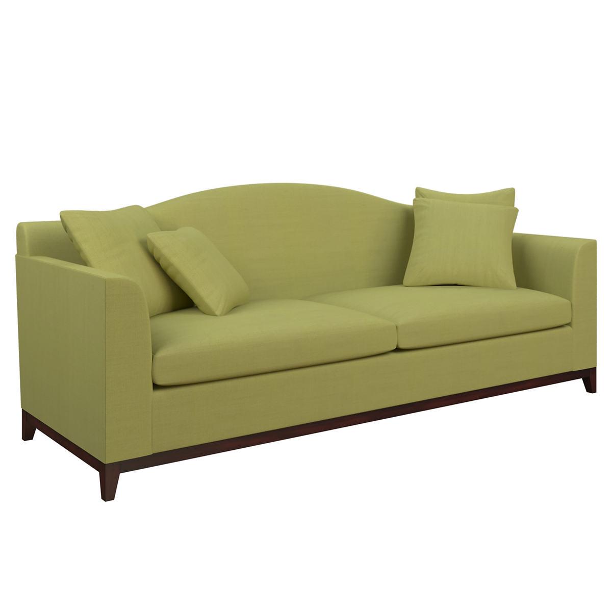Estate Linen Green Marseille Sofa