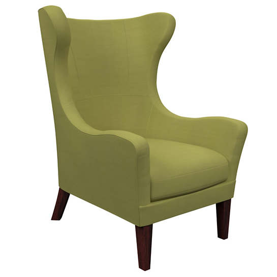 Estate Linen Green Mirage Tobacco Chair