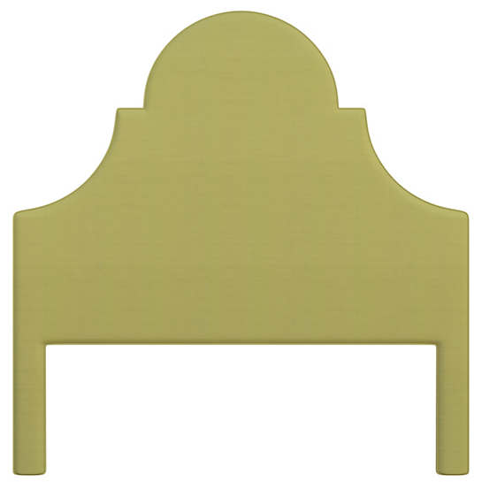 Estate Linen Green Montaigne Headboard