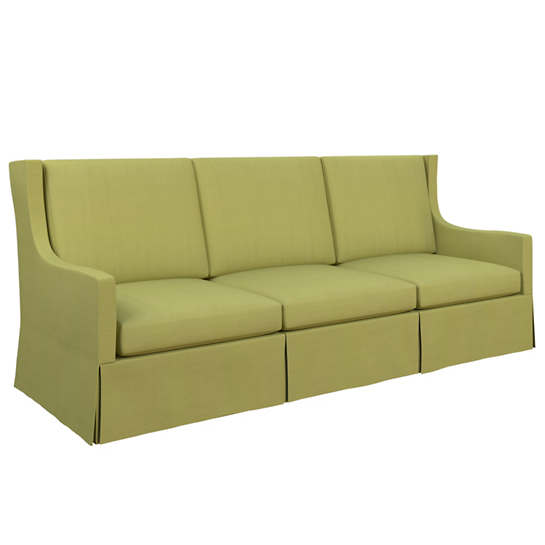 Estate Linen Green Toulouse Sofa