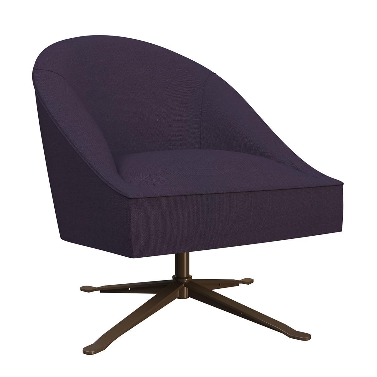 Estate Linen Indigo Embrace Chair