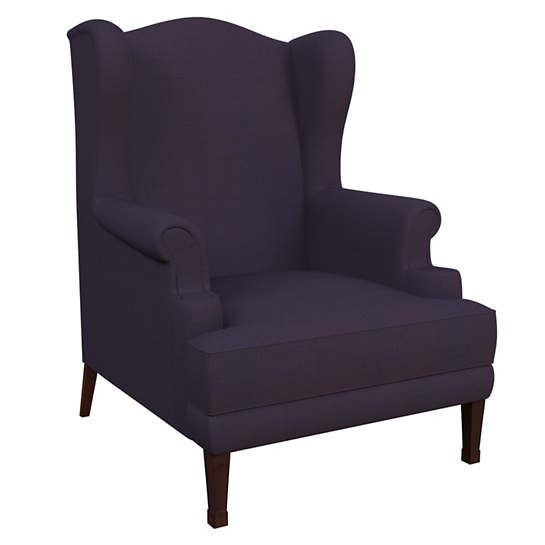 Estate Linen Indigo Lismore Chair