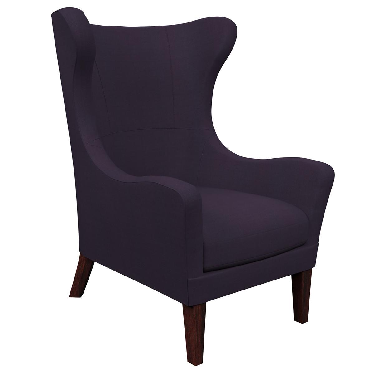 Estate Linen Indigo Mirage Tobacco Chair
