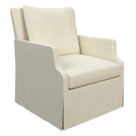 Estate Linen Ivory Aix Chair