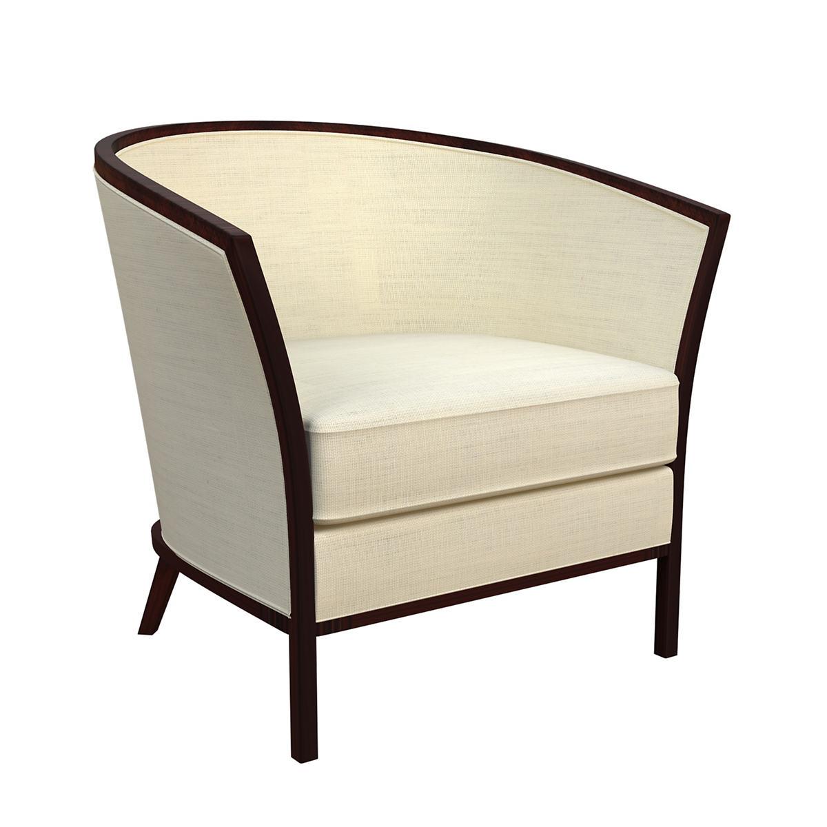 Estate Linen Ivory Bijou Chair