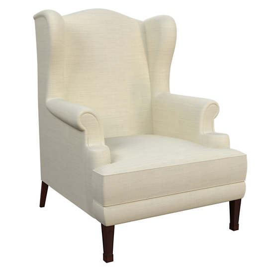 Estate Linen Ivory Lismore Chair