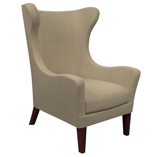 Estate Linen Natural Mirage Tobacco Chair