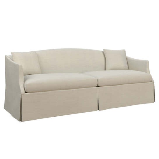 Estate Linen Pearl Grey Avignon Sofa
