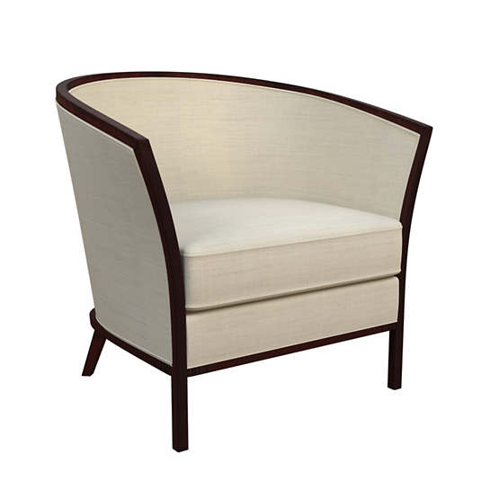 Estate Linen Pearl Grey Bijou Chair