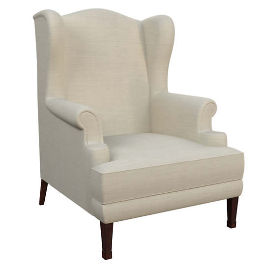 Estate Linen Pearl Grey Lismore Chair