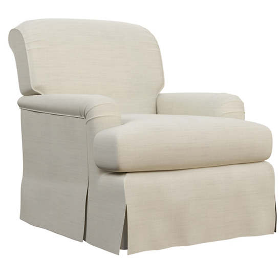 Estate Linen Pearl Grey Longford Chair