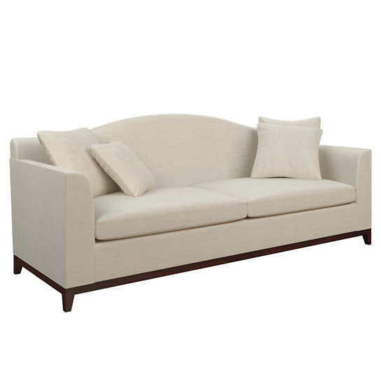 Estate Linen Pearl Grey Marseille Sofa