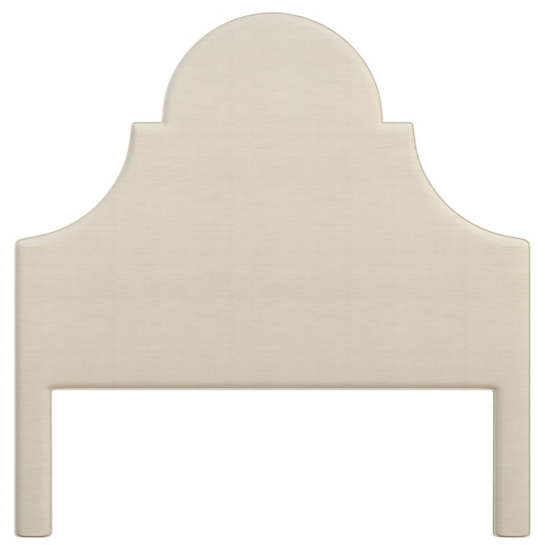 Estate Linen Pearl Grey Montaigne Headboard