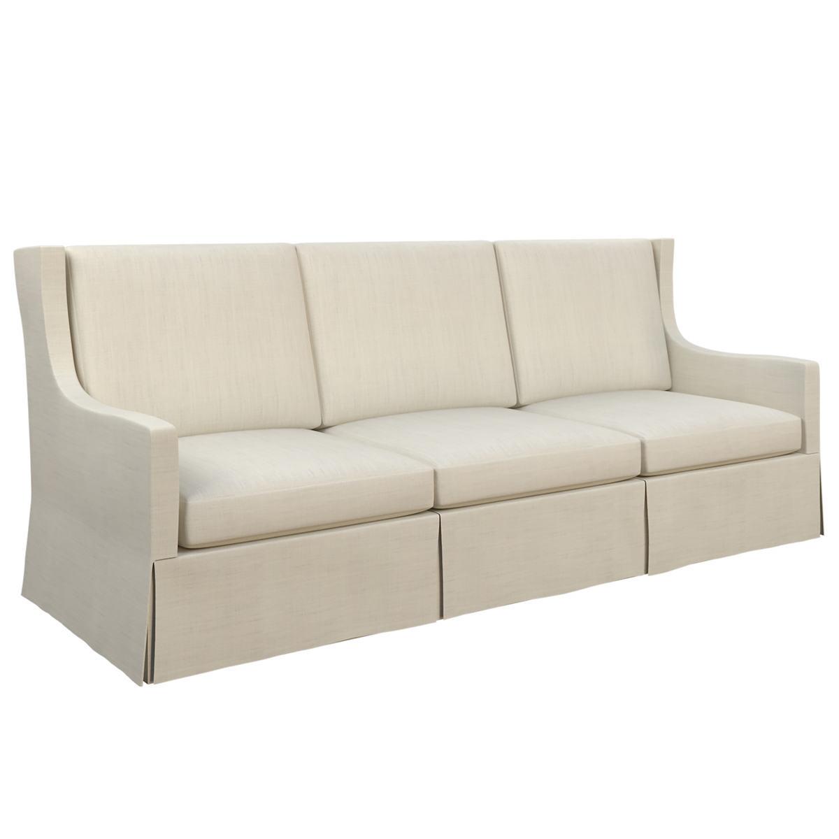 Estate Linen Pearl Grey Toulouse Sofa
