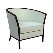 Estate Linen Powder Blue Bijou Chair