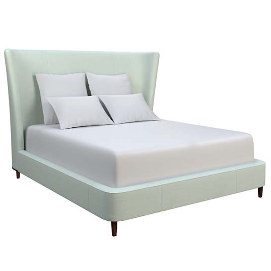 Estate Linen Powder Blue Boulevard Bed
