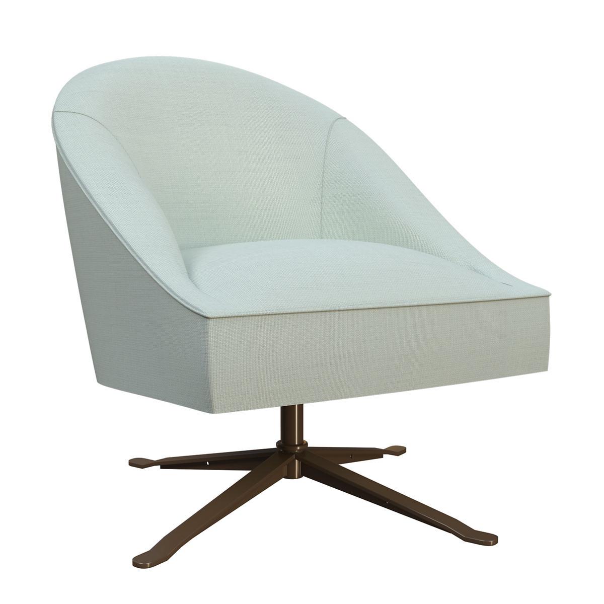 Estate Linen Powder Blue Embrace Chair