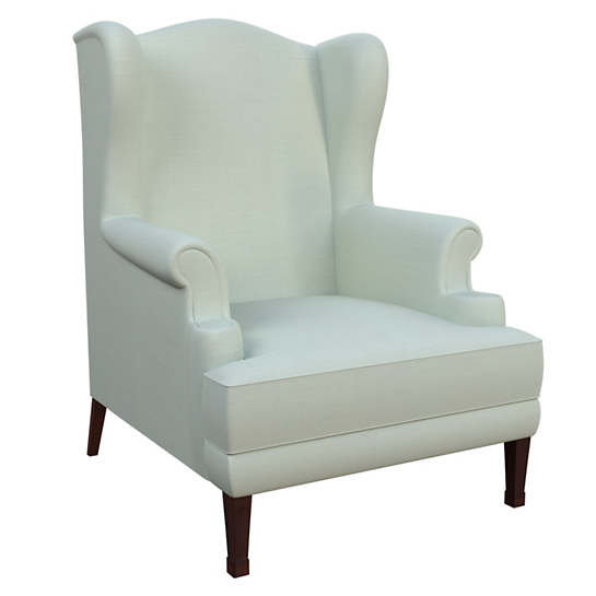 Estate Linen Powder Blue Lismore Chair