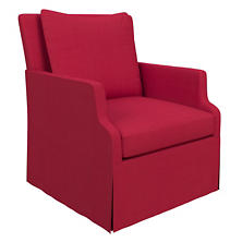 Estate Linen Red Aix Chair