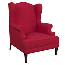 Estate Linen Red Lismore Chair