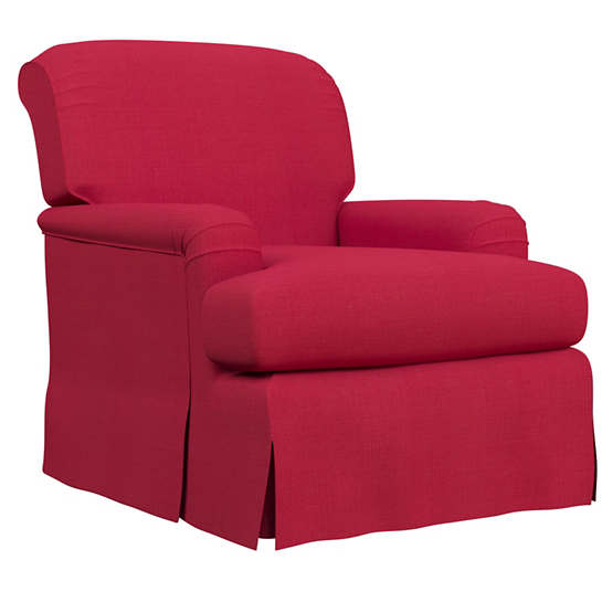 Estate Linen Red Longford Chair
