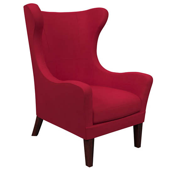 Estate Linen Red Mirage Tobacco Chair