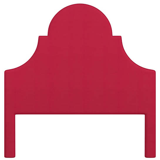 Estate Linen Red Montaigne Headboard
