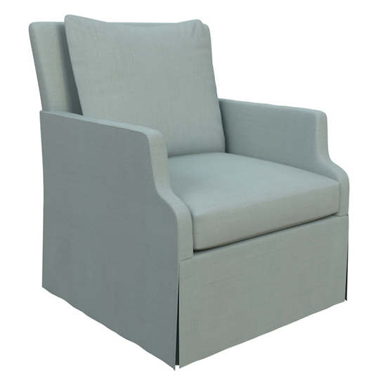 Estate Linen Sky Aix Chair