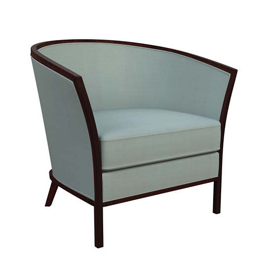 Estate Linen Sky Bijou Chair
