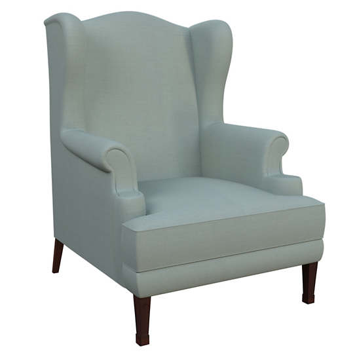 Estate Linen Sky Lismore Chair
