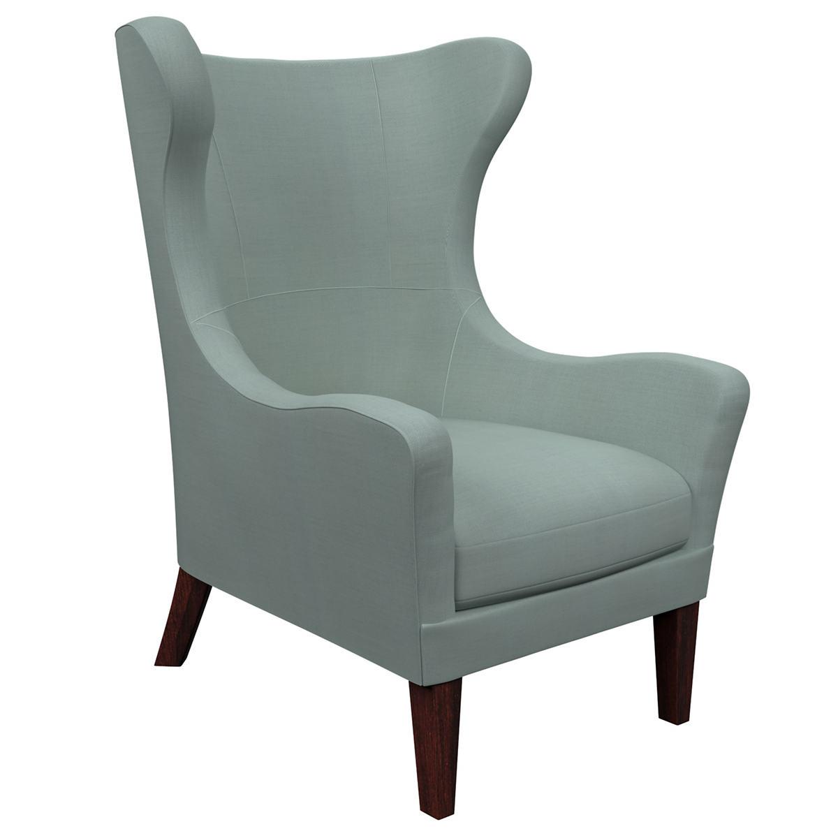 Estate Linen Sky Mirage Tobacco Chair