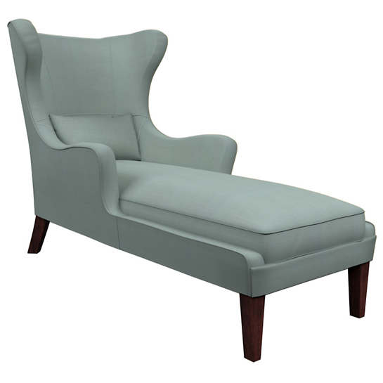 Estate Linen Sky Mirage Tobacco Chaise