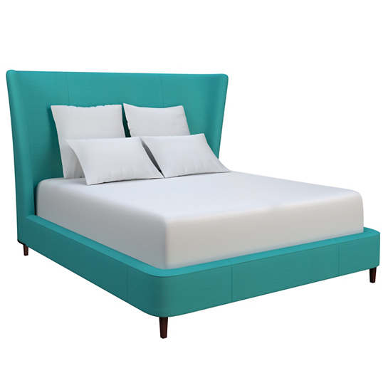 Estate Linen Turquoise Boulevard Bed