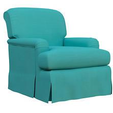 Estate Linen Turquoise Longford Chair