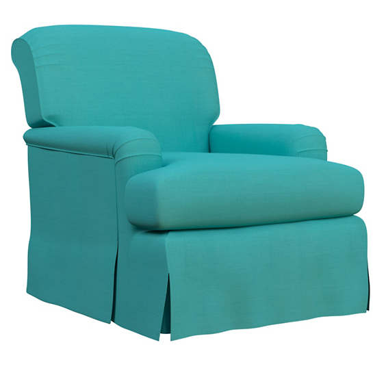 Estate Linen Turquoise Longford Chair