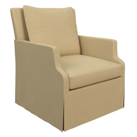 Estate Linen Wheat Aix Chair