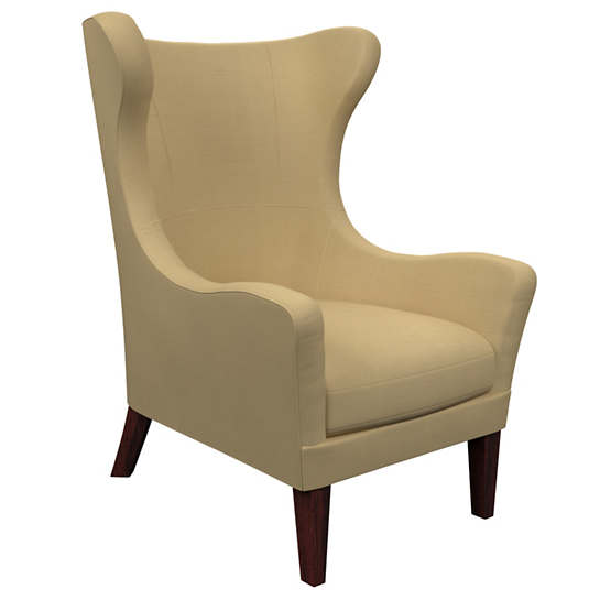Estate Linen Wheat Mirage Tobacco Chair