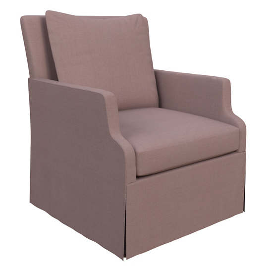 Estate Linen Zinc Aix Chair