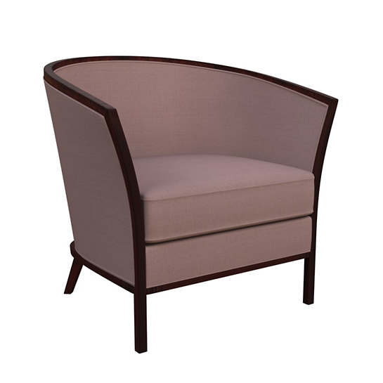 Estate Linen Zinc Bijou Chair