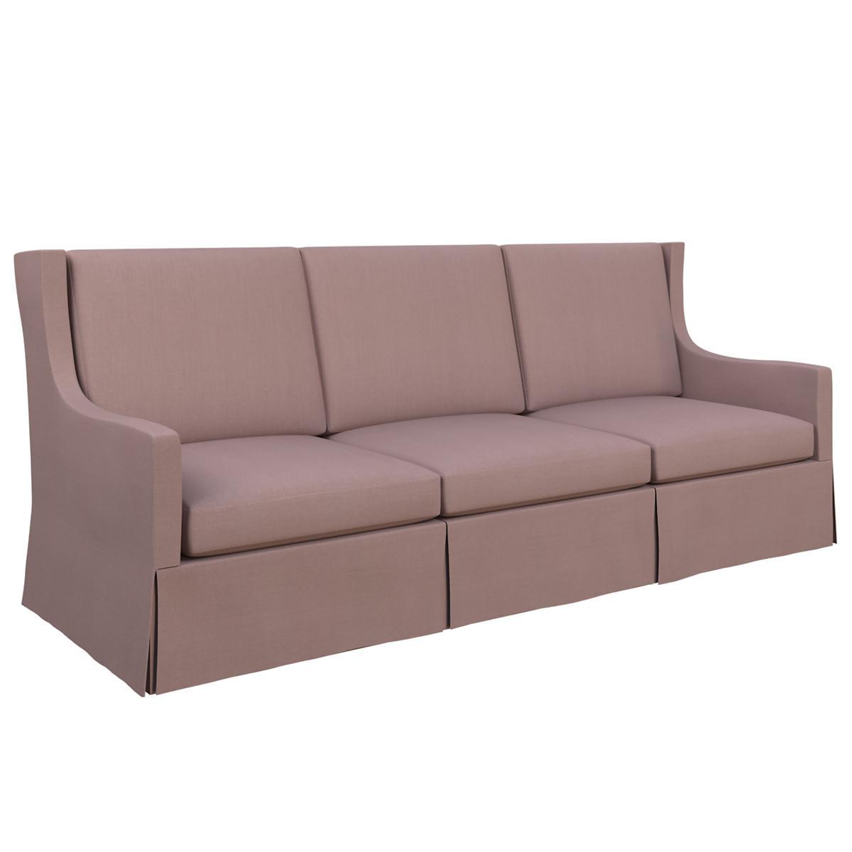Estate Linen Zinc Toulouse Sofa