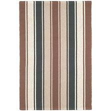 Ethan Stripe  Woven Cotton Rug