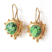 Everett Green Turquoise Earrings