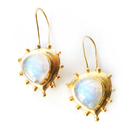 Everett Moonstone Earrings